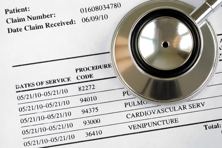 Medisoft insurance claim form